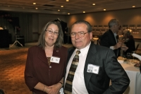 Loretta and Mark Kingman