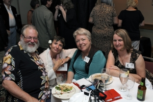 Shawn Riley, Kathy Terry, Gayna Riley, Barbara Long Ferguson
