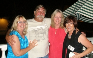 Patty Behrens Picard, Ken Still, Julie Carrico and Suzan Fritz Carson